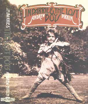 Cover of Birkin's J. M. Barrie and the Lost Boys